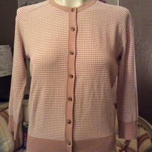 4 for $20 Ann Taylor Dot Cardigan Sweater